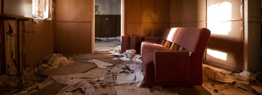¿Qué pasa si tu inquilino destroza la casa?