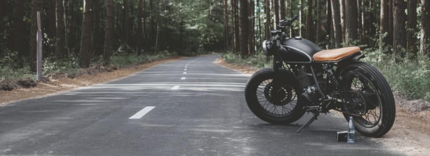 Asegurar una moto custom