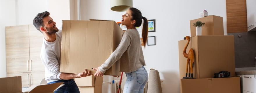 Mudanza y el seguro de hogar