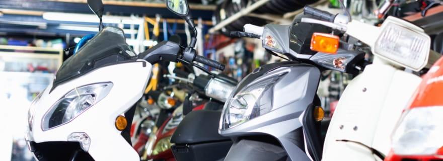 ¿Es más barato el seguro de un ciclomotor que el de una moto?