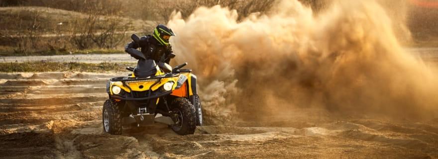 Contrata el seguro más barato para tu quad